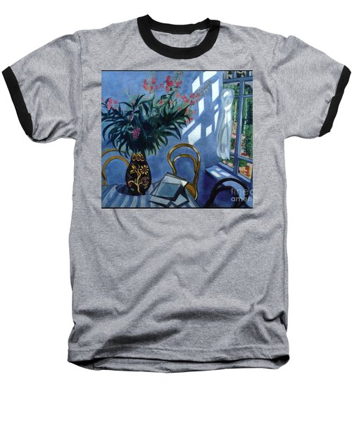 Interior With Flowers Baseball T-Shirt