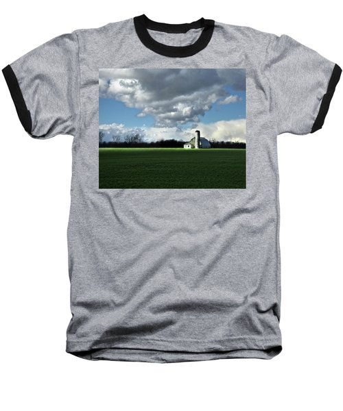 Baseball T-Shirt featuring the photograph Interlude by Robert Geary