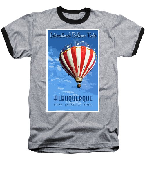 International Balloon Fiesta Baseball T-Shirt