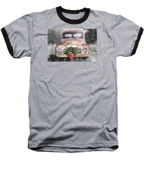 International Christmas Snow Baseball T-Shirt