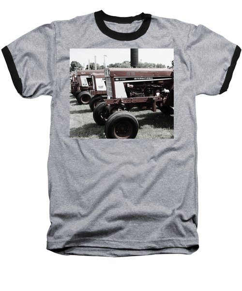 Baseball T-Shirt featuring the photograph International Line Up by Meagan  Visser