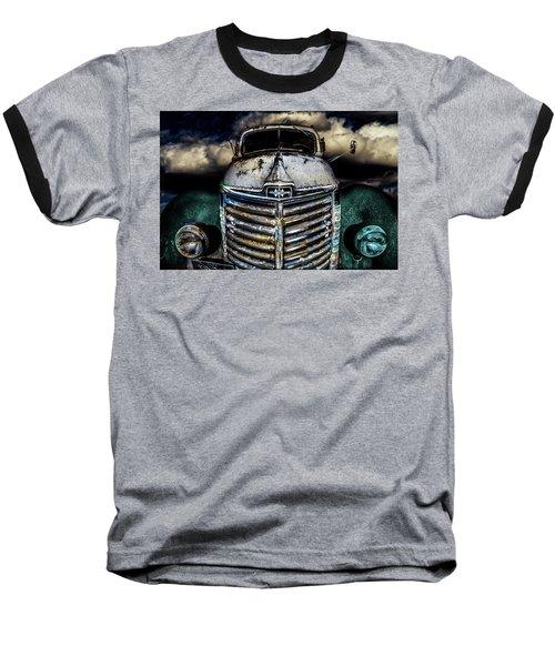 Baseball T-Shirt featuring the photograph International Truck 6 by Michael Arend