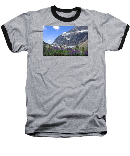 Interpretive Apps In The Canadian Rockies Baseball T-Shirt