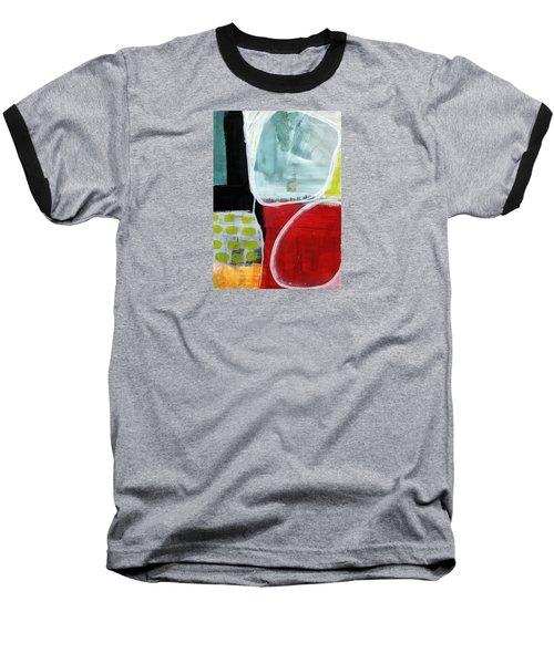 Intersection 37- Abstract Art Baseball T-Shirt