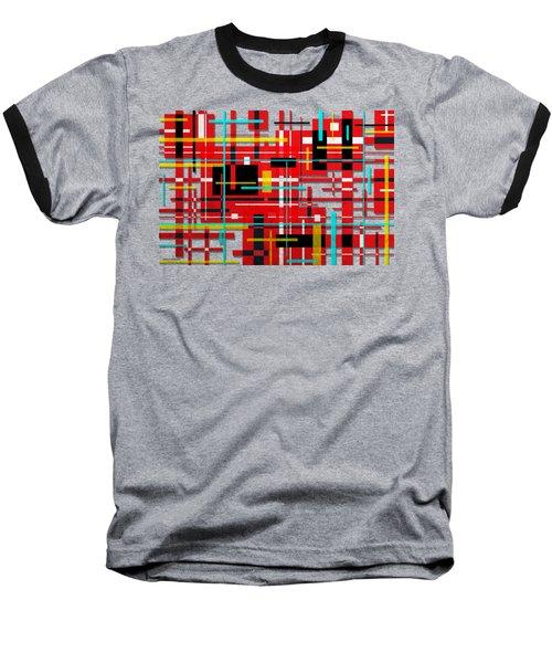 Intersection Baseball T-Shirt by Shawna Rowe