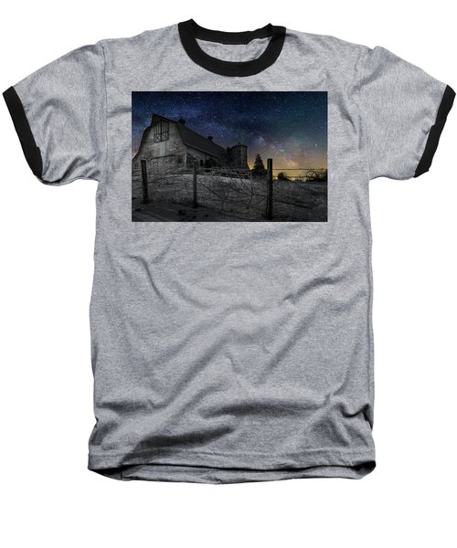Baseball T-Shirt featuring the photograph Interstellar Farm by Bill Wakeley