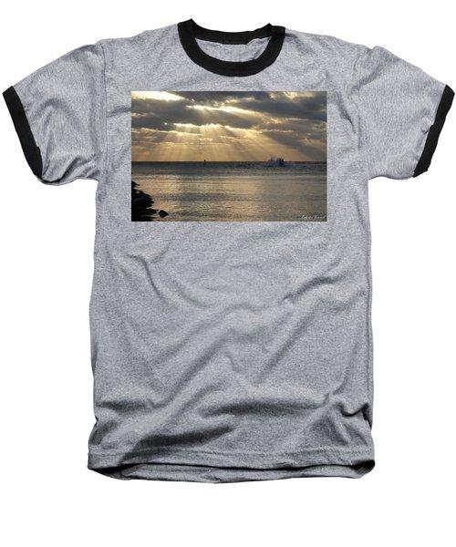 Into Dawn's Early Rays Baseball T-Shirt