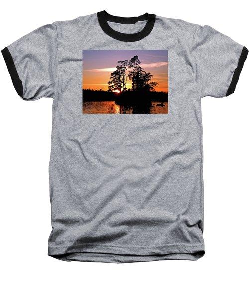 Into Shadow Baseball T-Shirt by Lynda Lehmann