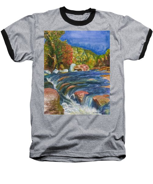 Into Slide Rock Baseball T-Shirt