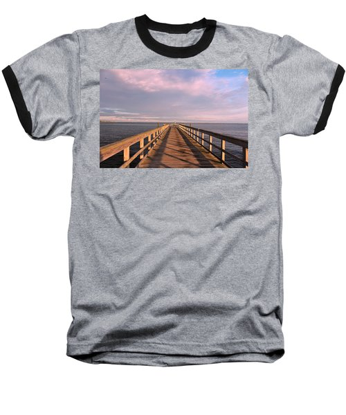 Into The Clouds Baseball T-Shirt