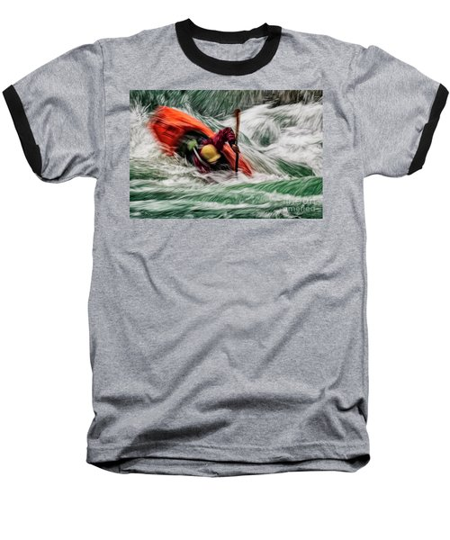 Into The Drink Baseball T-Shirt