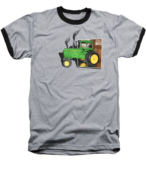 Baseball T-Shirt featuring the photograph Into The Fields by Shane Bechler
