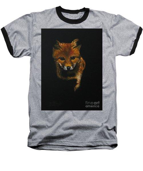 Into The Light......fox Kit Baseball T-Shirt
