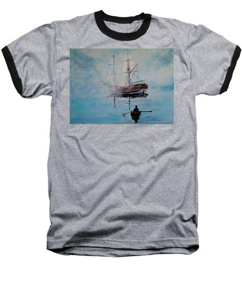 Into The Mist Baseball T-Shirt