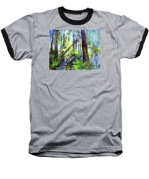 Into The Mist Baseball T-Shirt
