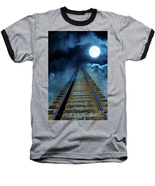 Into The Night Baseball T-Shirt