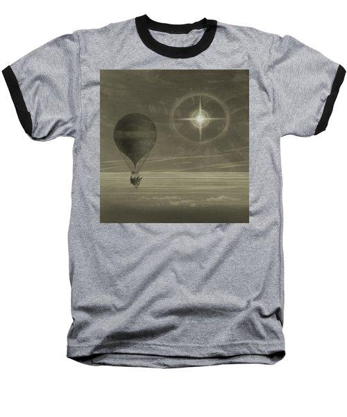 Into The Night Sky Baseball T-Shirt