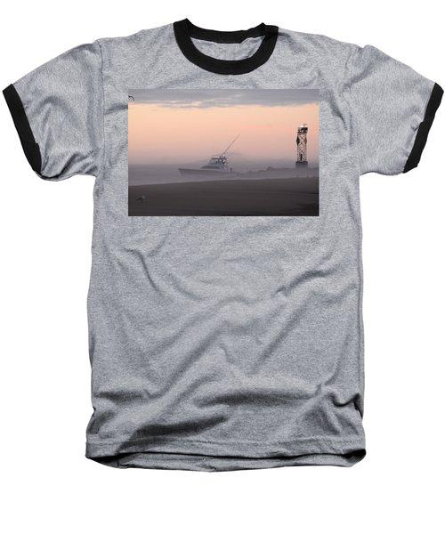 Into The Pink Fog Baseball T-Shirt