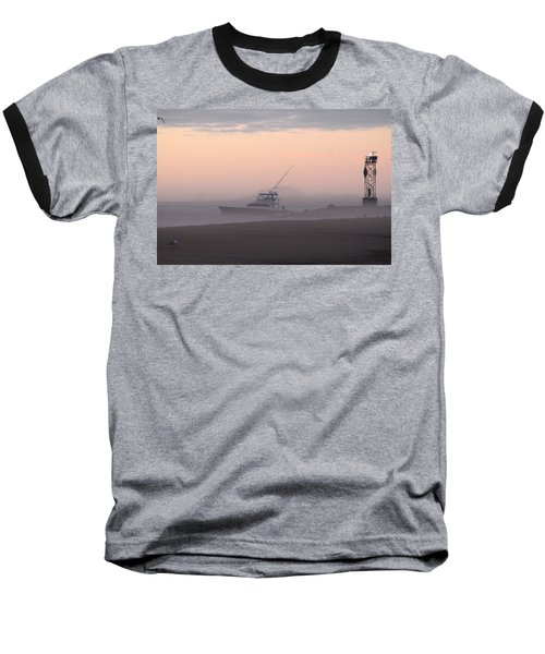 Into The Pink Fog Baseball T-Shirt
