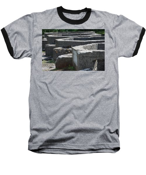 Into The Ruins 3 Baseball T-Shirt