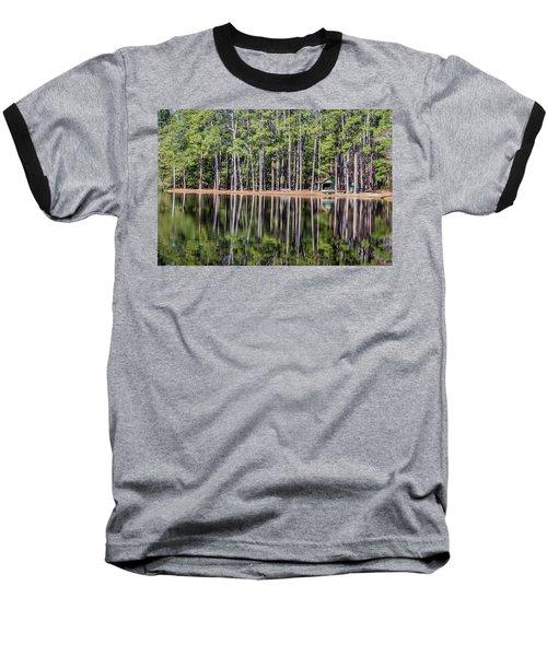 Into The Sc Woods Baseball T-Shirt by Menachem Ganon