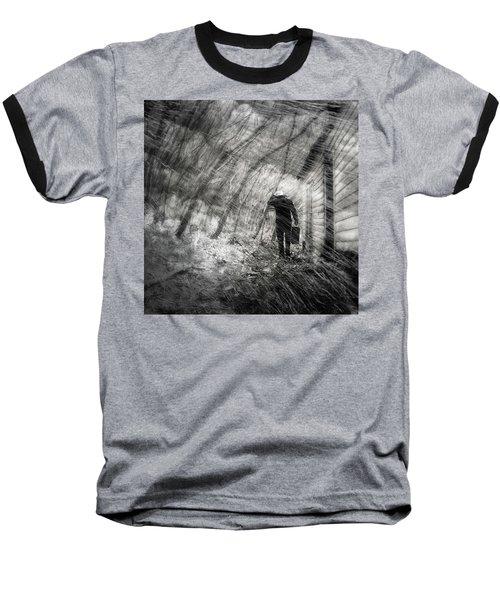 Into The Storm Baseball T-Shirt by Gray  Artus