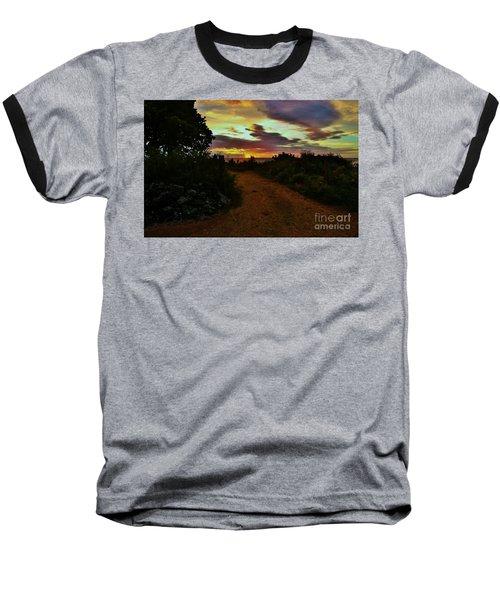 Into The Sunset Baseball T-Shirt