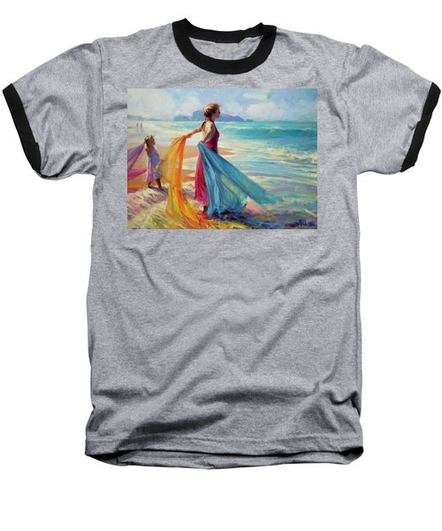 Into The Surf Baseball T-Shirt