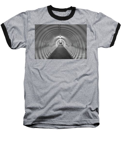 Baseball T-Shirt featuring the photograph Into The Tunnel by Juli Scalzi