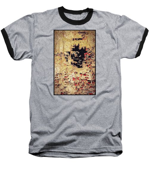 Into The Unknown Baseball T-Shirt by William Wyckoff