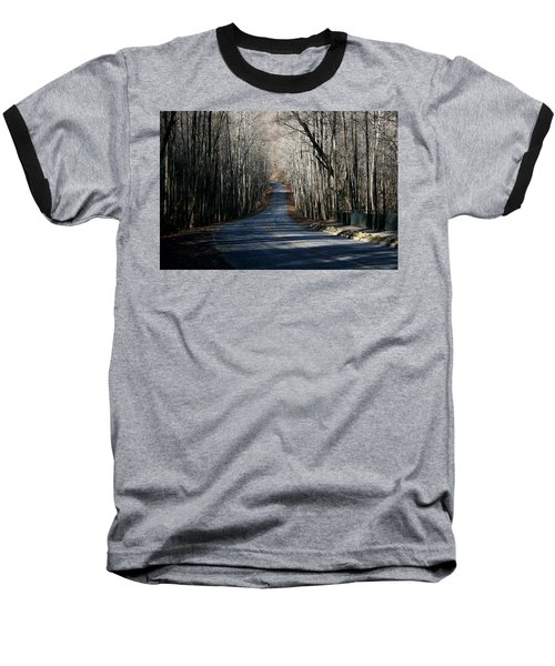 Into The Woods Baseball T-Shirt by Cathy Harper
