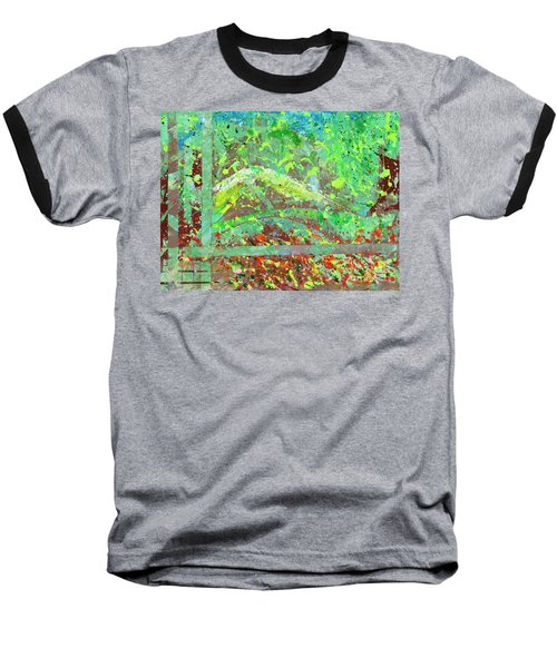 Into The Woods-through The Looking Glass Baseball T-Shirt