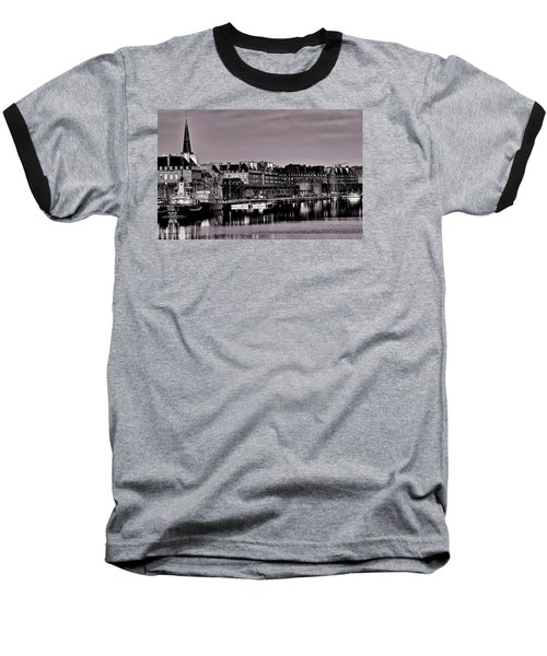 Baseball T-Shirt featuring the photograph Intra Muros At Night by Elf Evans