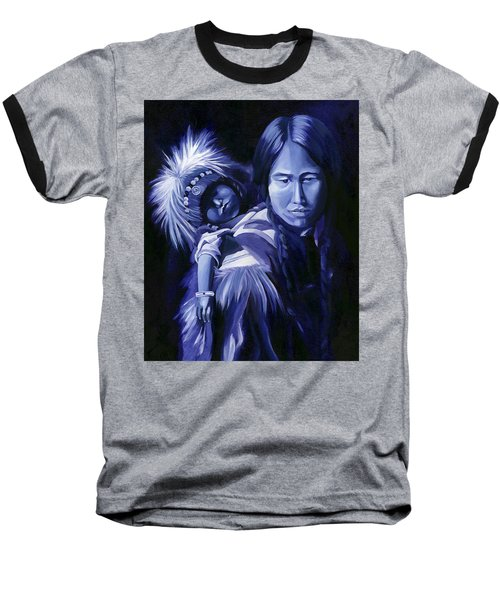Inuit Mother And Child Baseball T-Shirt
