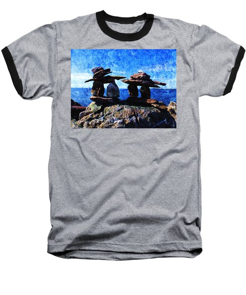 Inukshuk Baseball T-Shirt