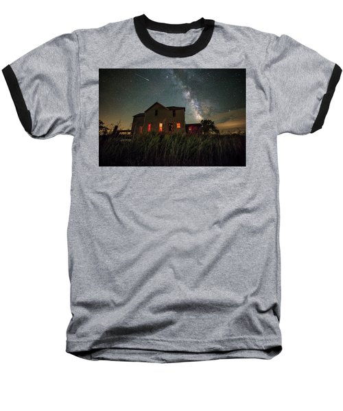 Baseball T-Shirt featuring the photograph Invasion by Aaron J Groen