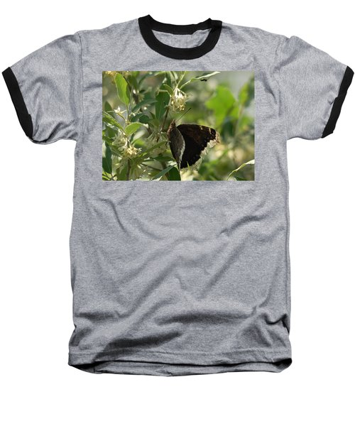 Baseball T-Shirt featuring the photograph Invasion Of Space by Susan Capuano