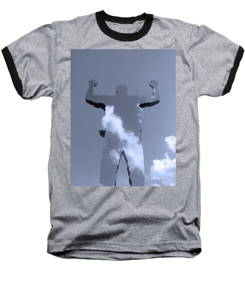 Baseball T-Shirt featuring the photograph Invisible ... by Juergen Weiss