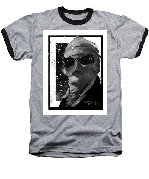 Invisible Man Baseball T-Shirt