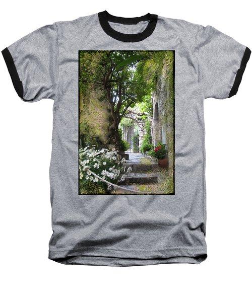 Inviting Courtyard Baseball T-Shirt
