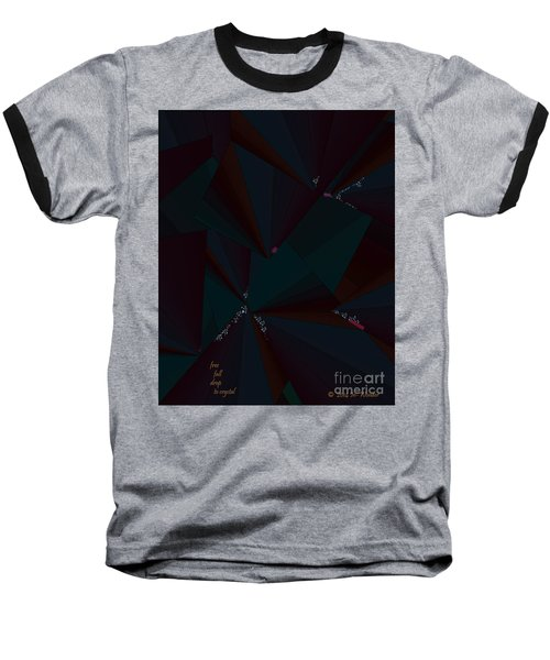 Inw_20a6148 Free Fall Drop To Crystal Baseball T-Shirt