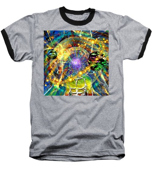 Inward Exploration Baseball T-Shirt