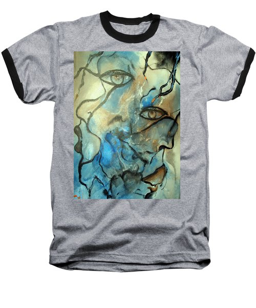 Baseball T-Shirt featuring the painting Inward Vision by Raymond Doward