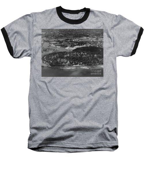 Inwood Hill Park Aerial, 1935 Baseball T-Shirt