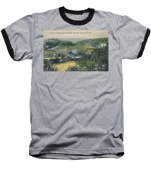 Inwood Postcard Baseball T-Shirt by Cole Thompson