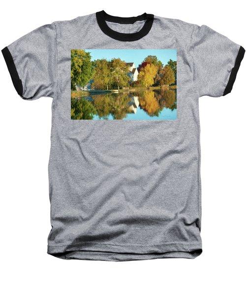 Iola Mill Fall View Baseball T-Shirt