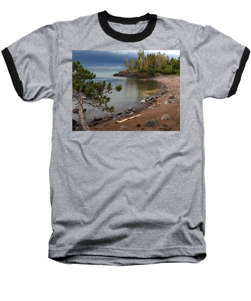Baseball T-Shirt featuring the photograph Iona's Beach by James Peterson