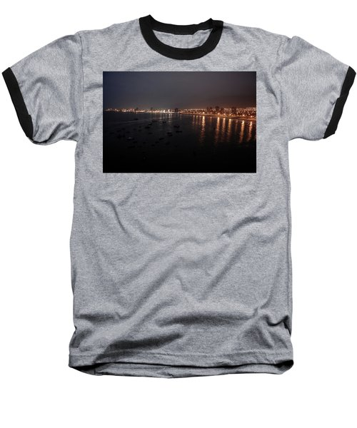 Iquique Harbor Chile Baseball T-Shirt