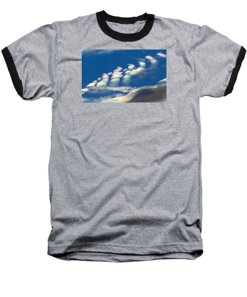 Iridescent Clouds 2 Baseball T-Shirt