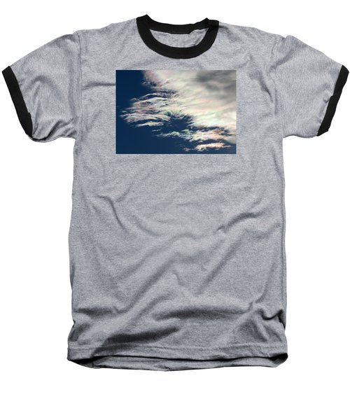 Iridescent Clouds 3 Baseball T-Shirt